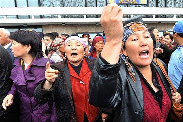 Письма из Бишкека. Отряд баб особого назначения 1