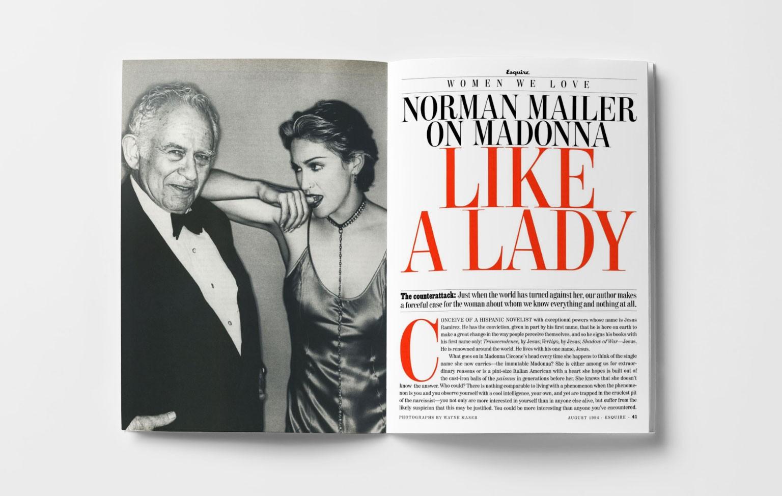Почти леди. Норман Мейлер о Мадонне. 1