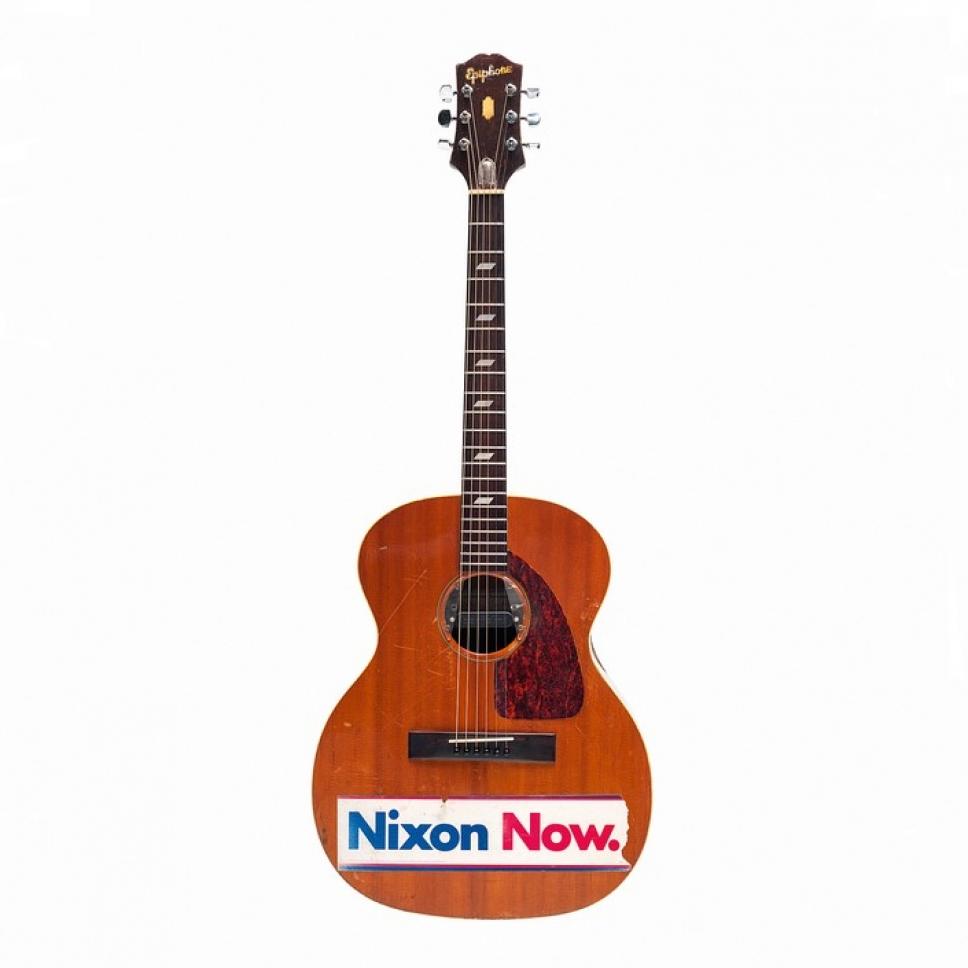 Курт Кобейн Nirvana Кортни Лав личные вещи архив гитара Nixon Now Ричард Никсон США президент