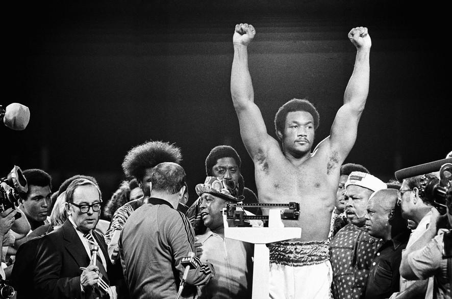 Мухаммед Али против Джорджа Формана чтение бокс отрывок The Fight