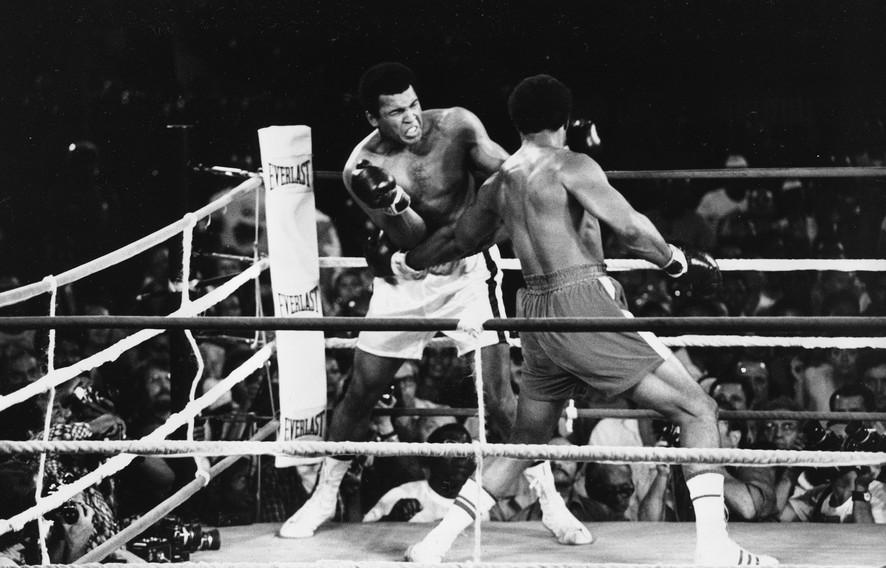 Мухаммед Али против Джорджа Формана чтение бокс отрывок The Fight Норман Мейлер