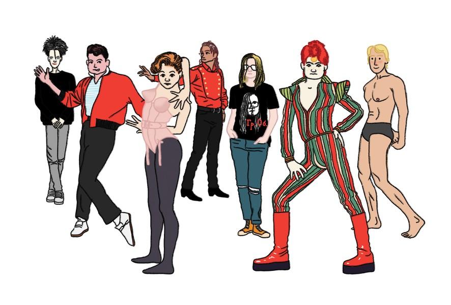 Об эволюции поп-героя: от Виктора Цоя до Марка Цукерберга 1