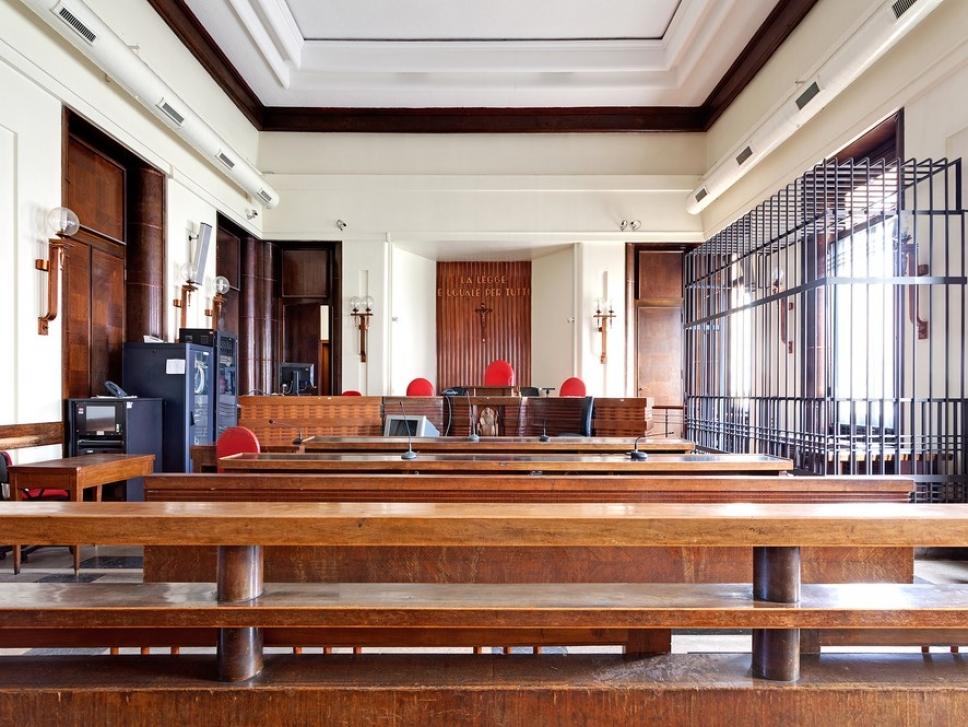 Залы суда, где не стыдно получить приговор 6