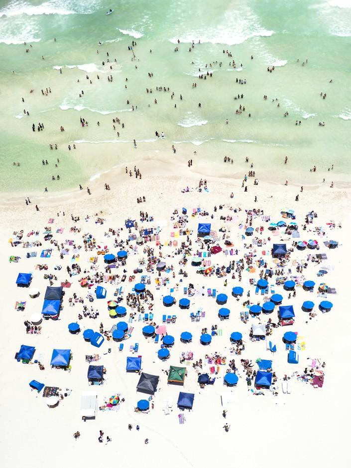 Пляж, вид сверху 6