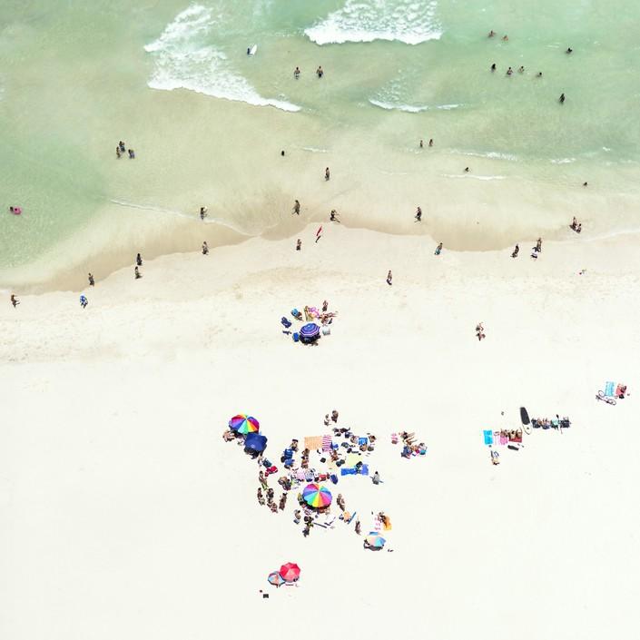Пляж, вид сверху 9