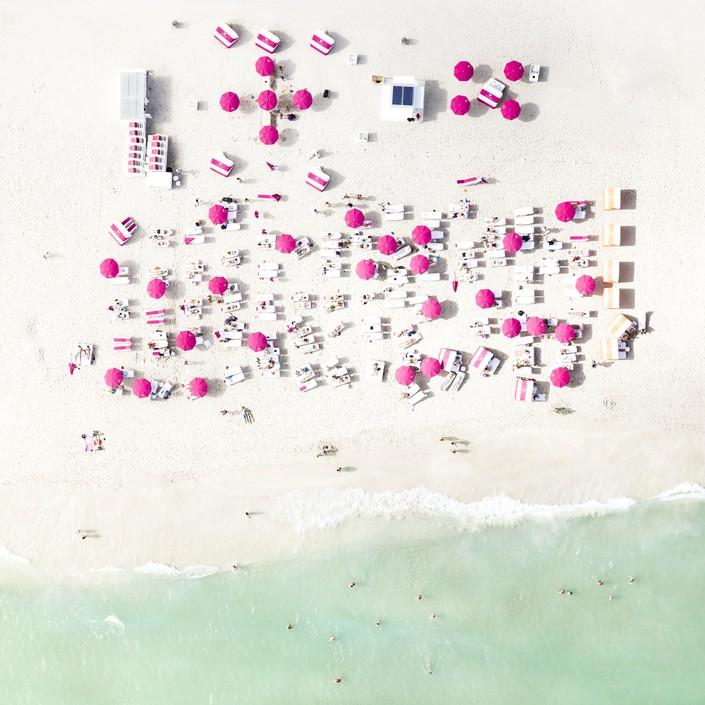 Пляж, вид сверху 3