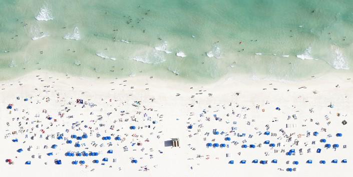 Пляж, вид сверху 5