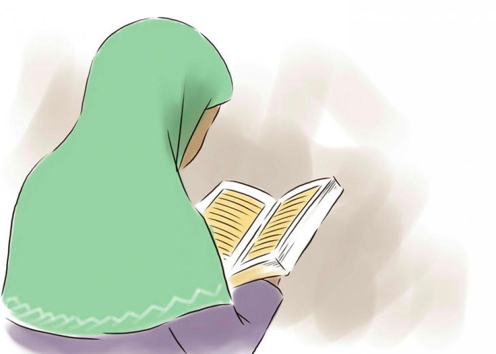 Сотрудник в хиджабе и с бородой 3