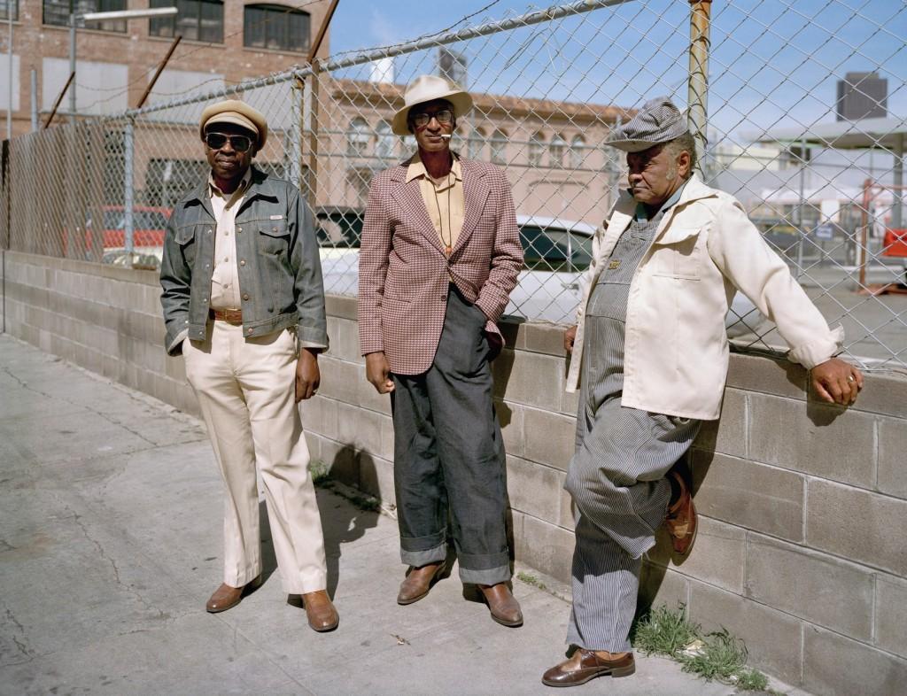 80-е Сан-Франциско SoMa фотопроект