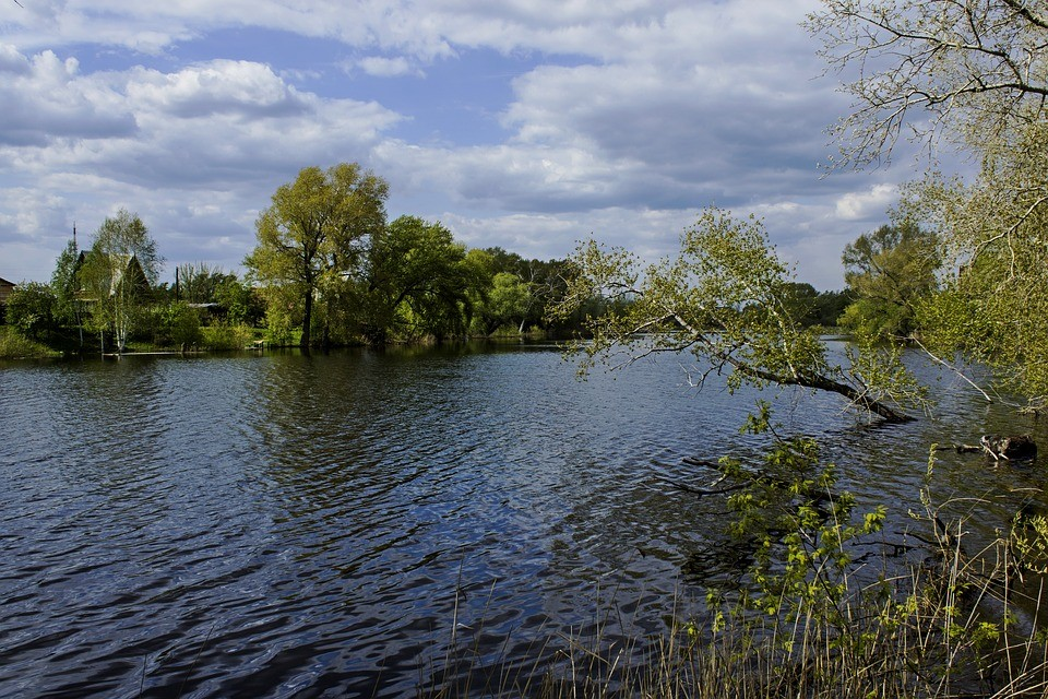 река Тобол Костанай отдых Казахстан