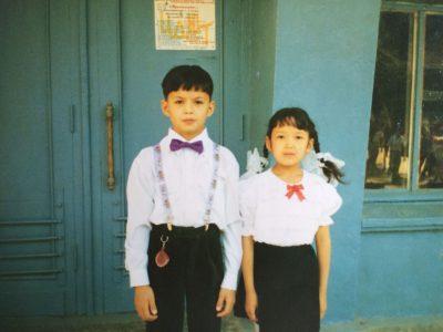 Чингиз Капин детское фото