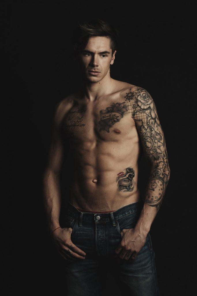 Скотт Реддинг Levi's татуировки мотогонки мода фэшн Стелла Бонасони