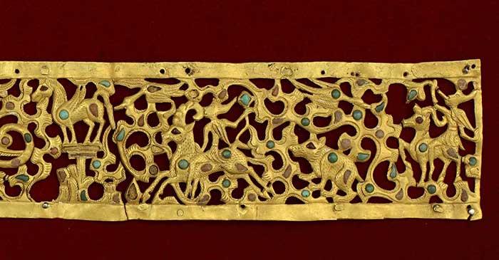 Каргалинская диадема реликвия археология