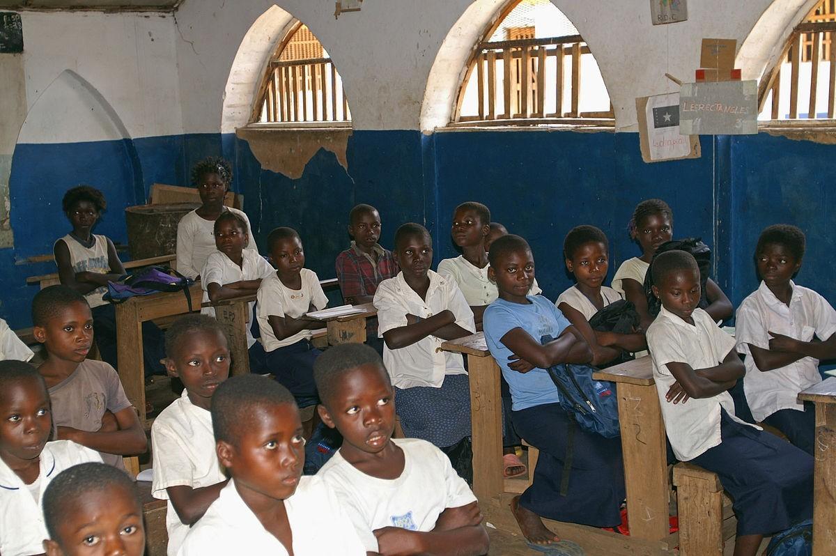 Письма из Африки. Жаник и школа