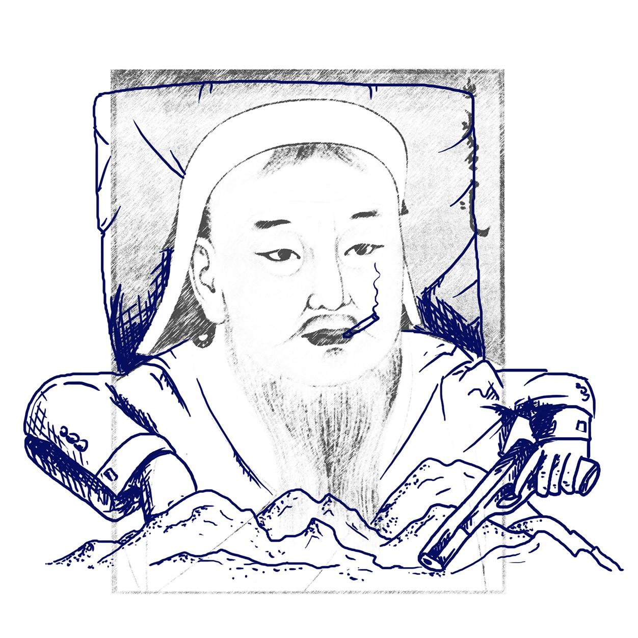 история гении Чингисхан Колумб Пушкин Валиханов Абай Пифагор Бетховен люди достижения прошлое настоящее современное воображение