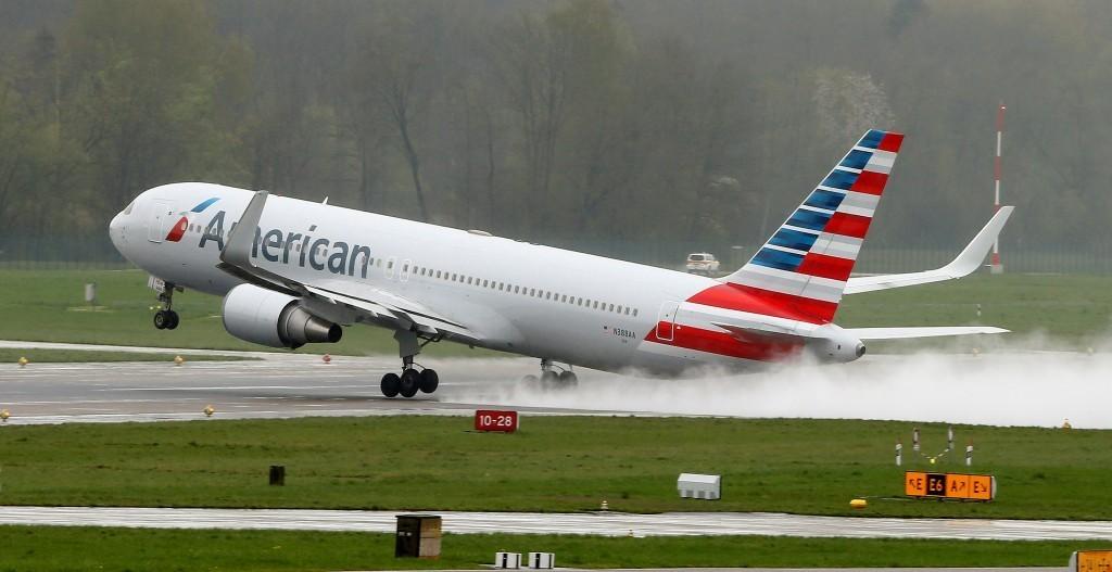 Самолет, аэропорт, Америка