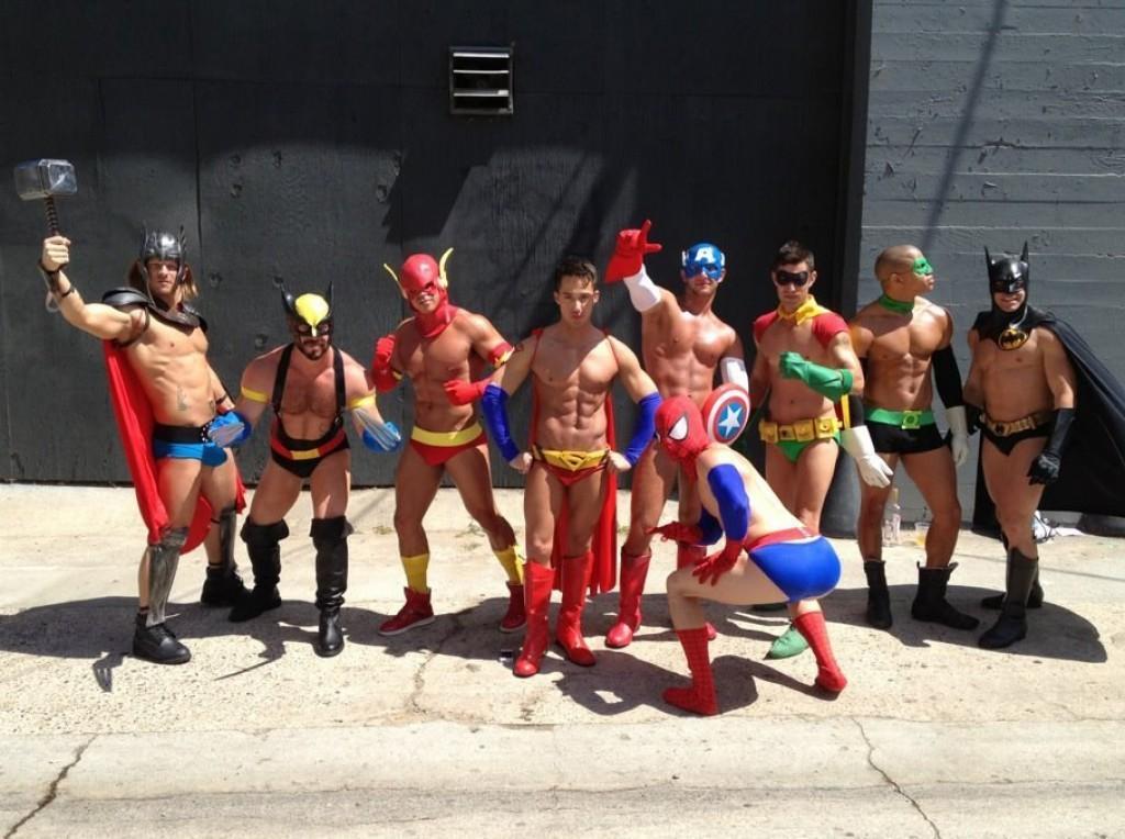 Пятиминутный путеводитель по супергероям-геям