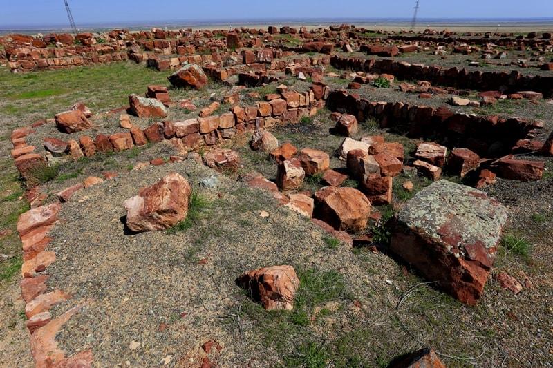 городище Акыртас история Казахстан