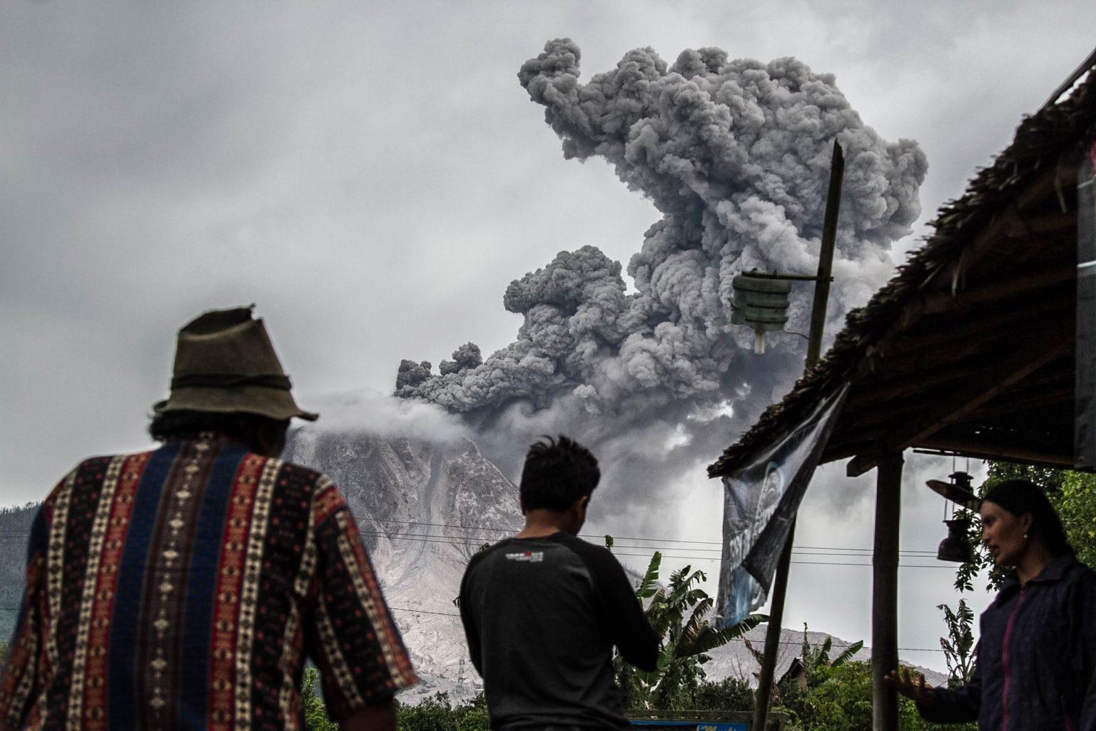 гора, вылканический пепел, Синабун