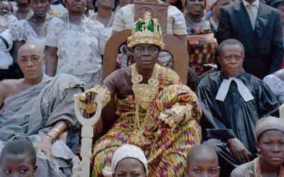 Сефас Банса ФРГ Германия Гана король монархия автомеханник