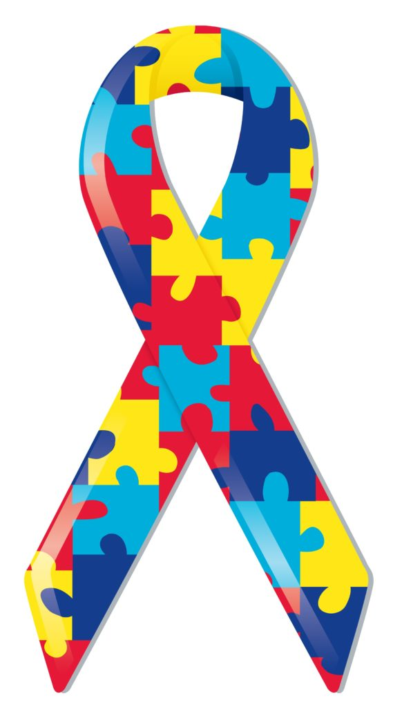 Autism Awareness Ribbon Аутизм