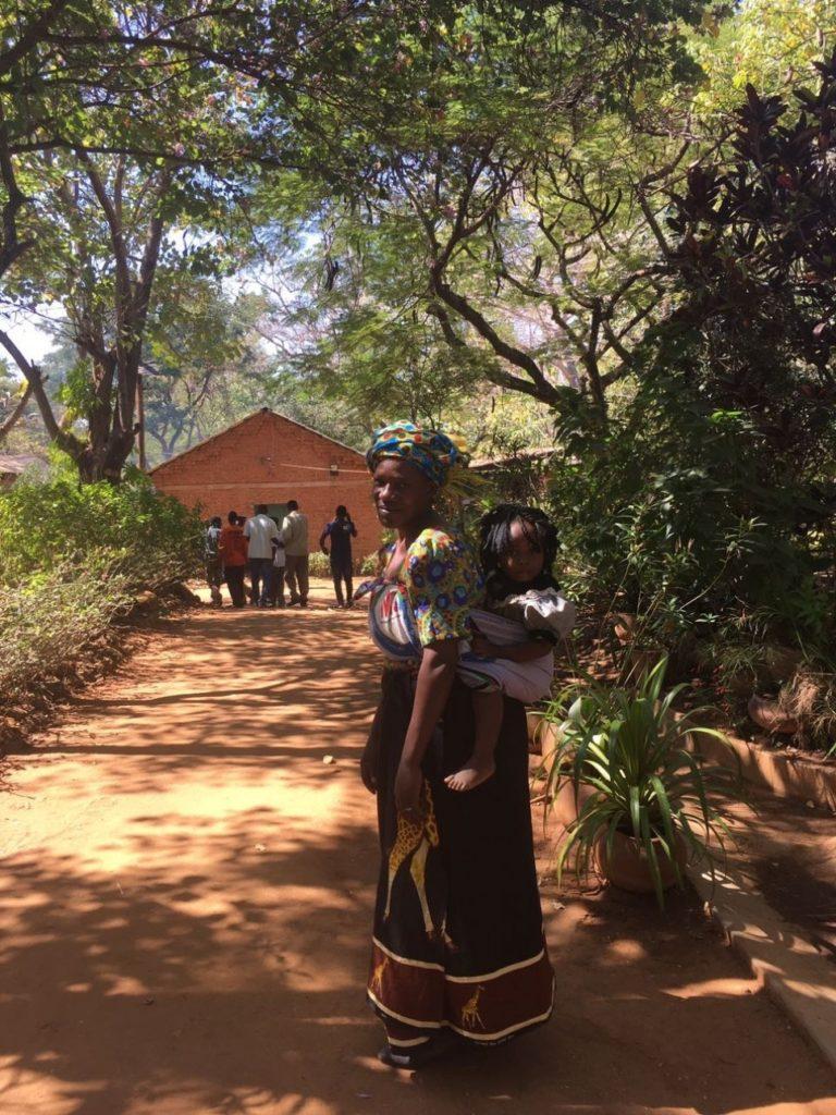 женщина, ребенок, африка