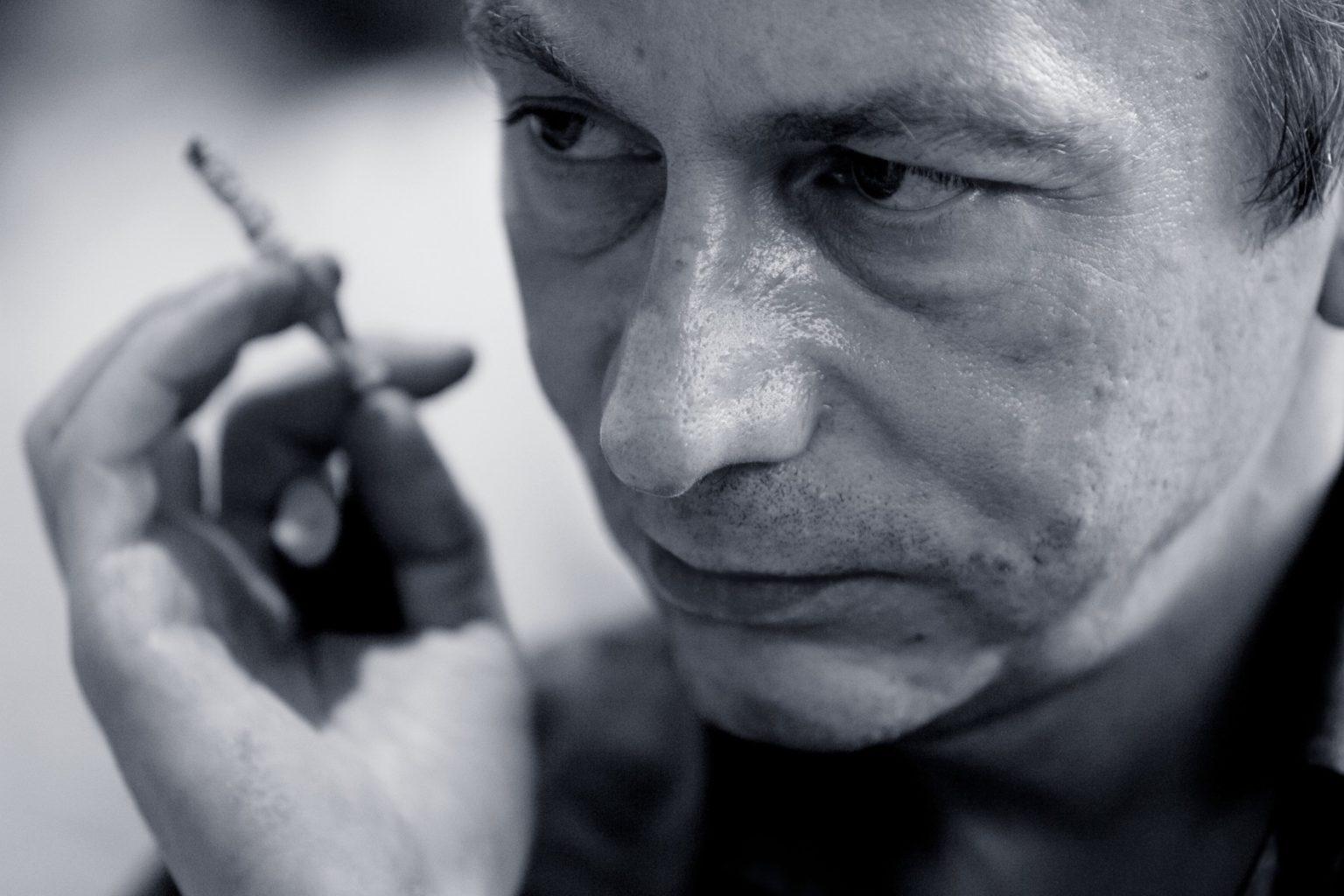 Фредерик Бегбедер берет интервью у Мишеля Уэльбека