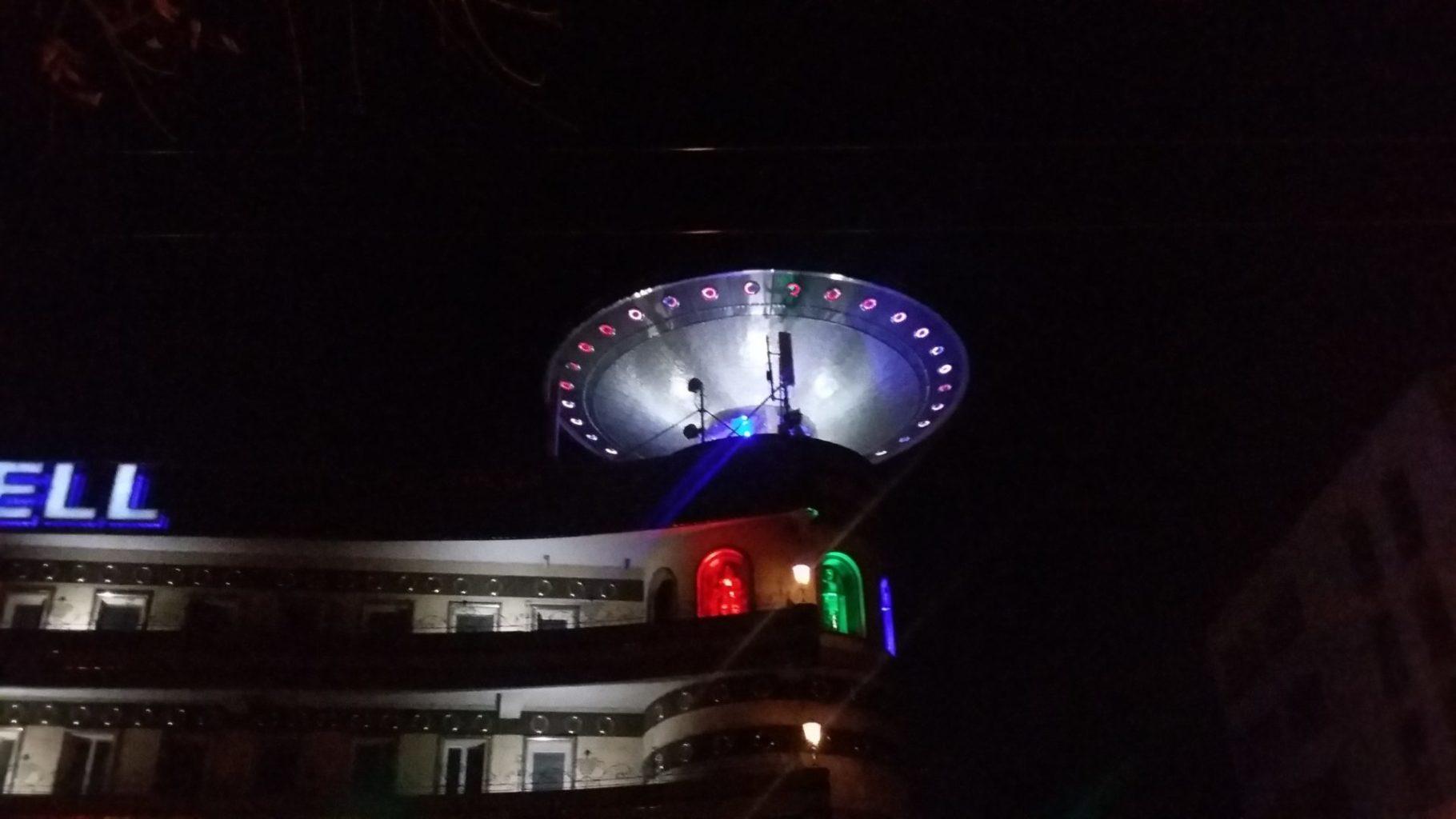 Каково это – построить офис-корабль с НЛО на крыше