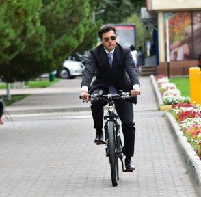 Габидулла Абдрахимов Шымкент аким Казахстан нур-отан