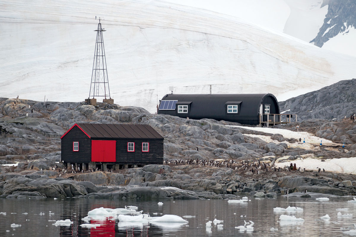 Царапины на льдинах