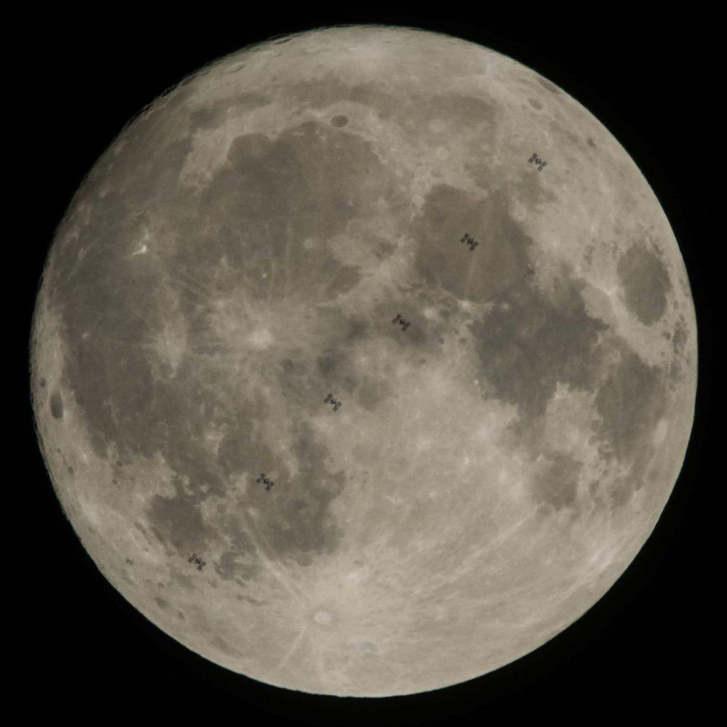 Лунный след