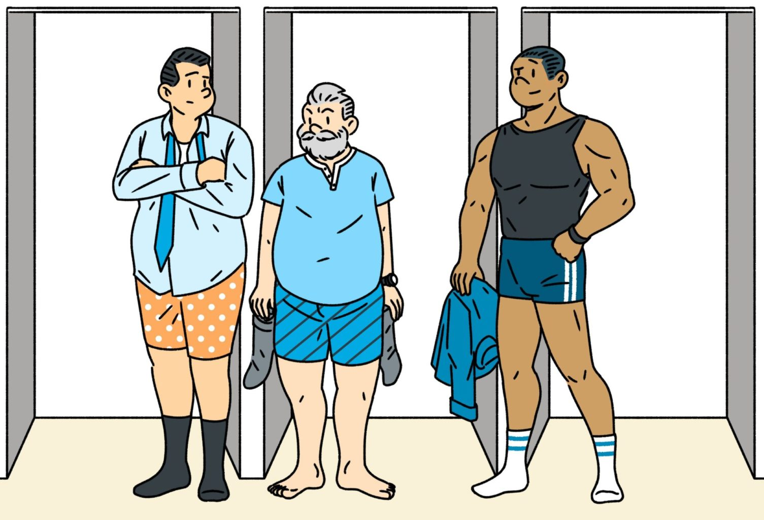 Судят по одежке