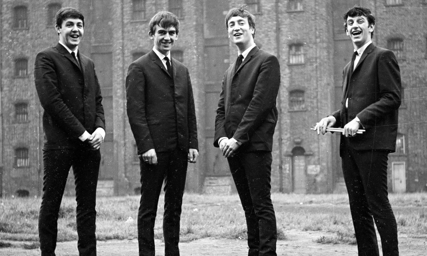 The Beatles группа музыка Великобритания 1960-ые Джон Леннон Пол Маккартни Ринго Стар