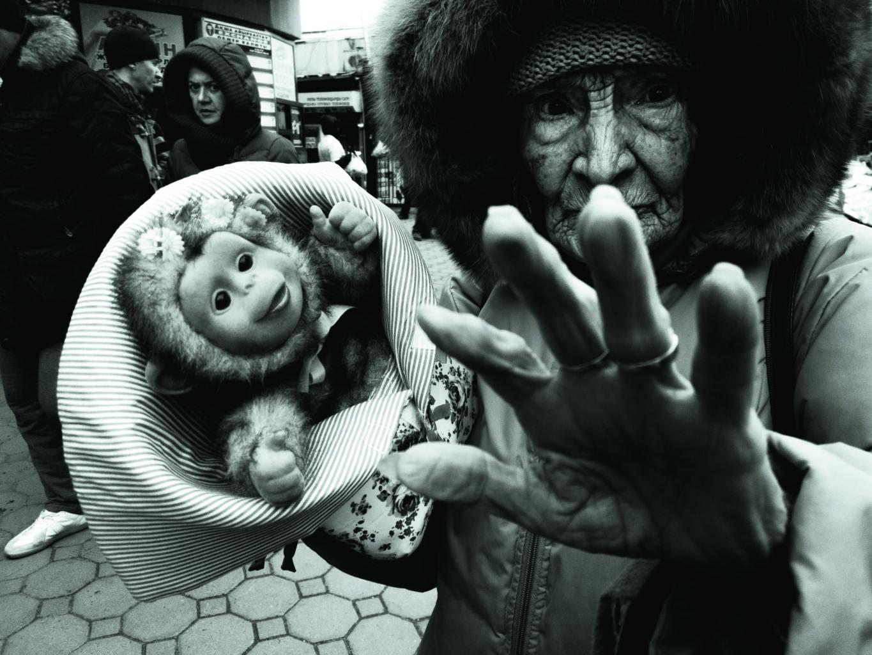 История одного фото с улиц Алматы