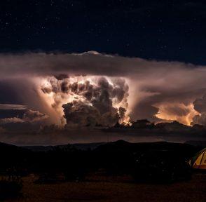 Биг-Бенд Техас США шторм