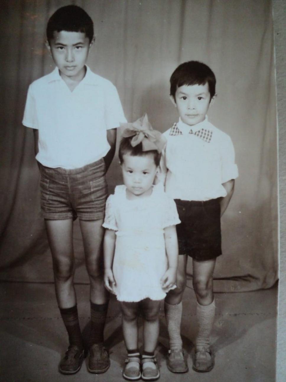 Серик Акишев детские фото