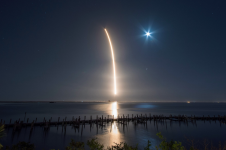 Falcon 9 SpaceX космос наноспутник Алматы