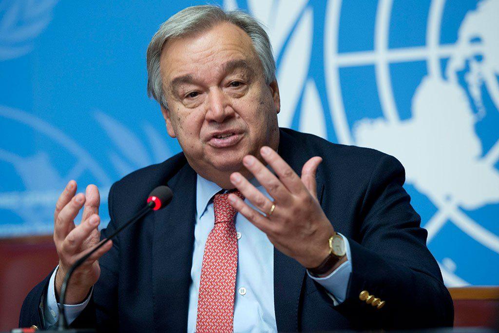 Антониу Гутерриш ООН Совет Безопасности