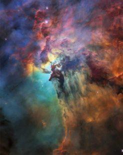 Туманность Лагуна NASA Hubble