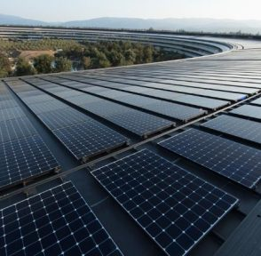 Apple солнечная энергия