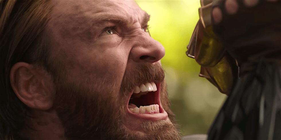 Крис Эванс Капитан Америка Война Бесконечности Мстители