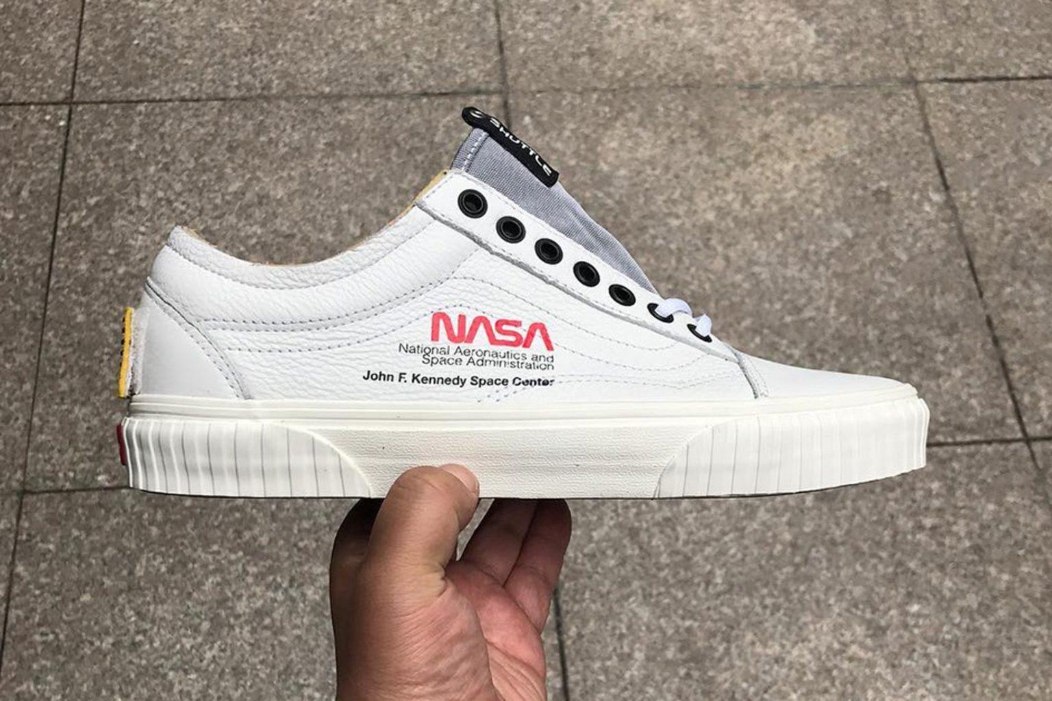 Vans выпустят капсульную коллекцию в коллаборации с NASA