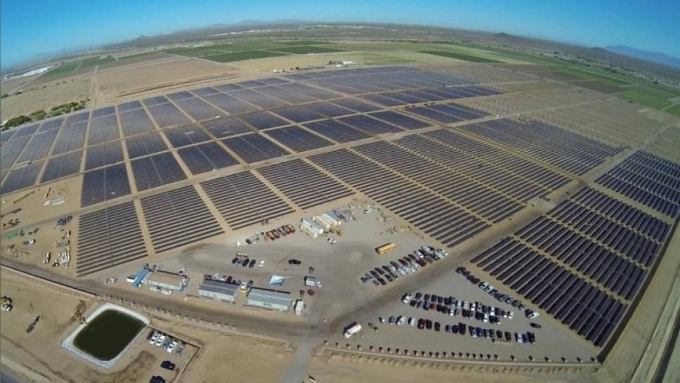 Apple Аризона дата-центр солнечная энергия