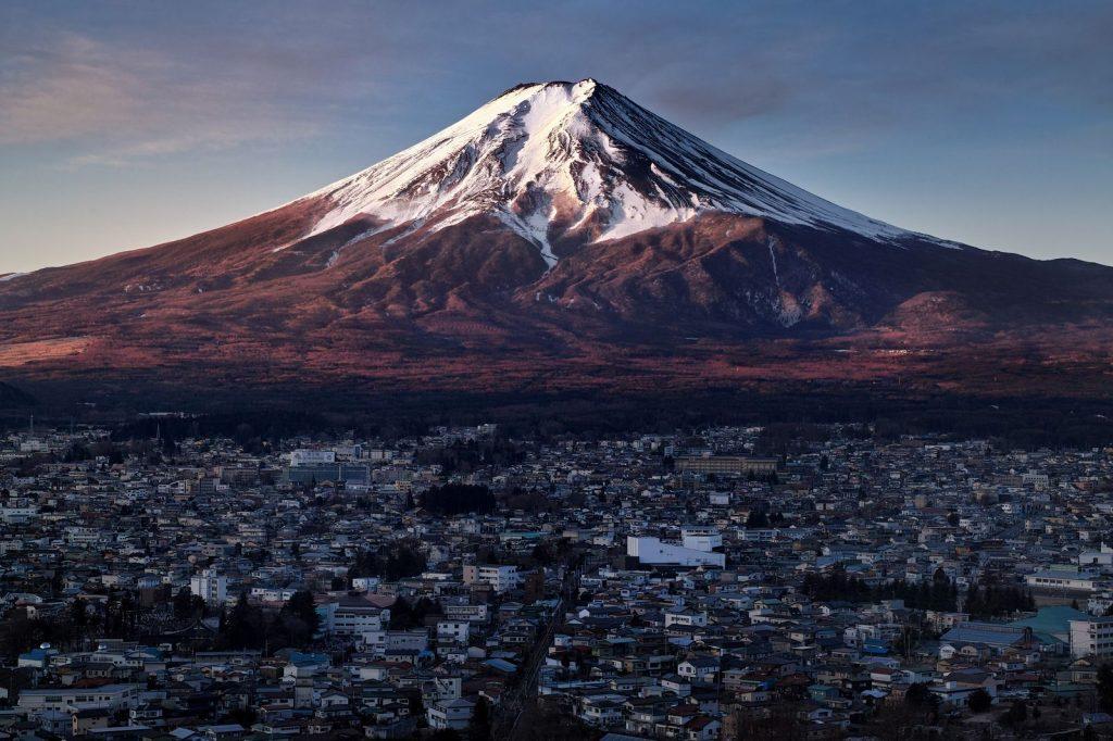 Фудзи Фудзияма Япония Токио вулкан