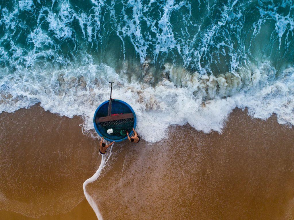 море Вьетнам рыбаки