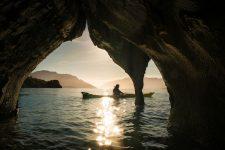 Пуэрто Рио Транкило Чили мраморные пещеры озеро