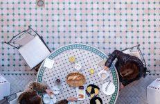 Марокко Марракеш мозаика Zelij