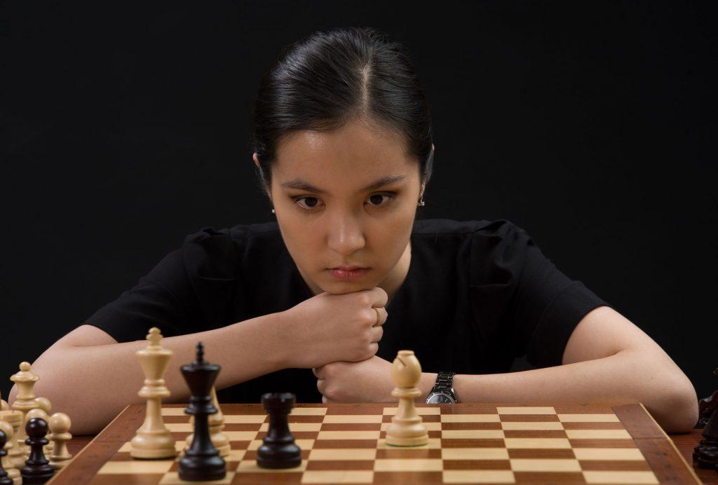 Динара Садуакасова шахматы гроссмейстер Казахстан ЮНИСЕФ FIDE