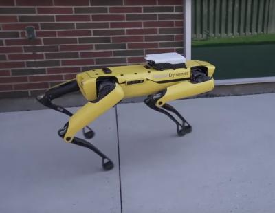 Boston Dynamics SpotMini TechChurch собака-робот Марк Райберт