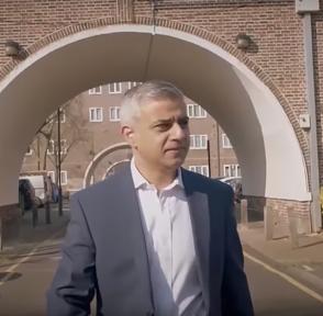 Садик Хан Лондон Великобритания мэр